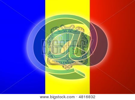 Flag Of Andorra Internet Illustration