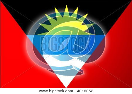 Flag Of Antigua Internet Illustration