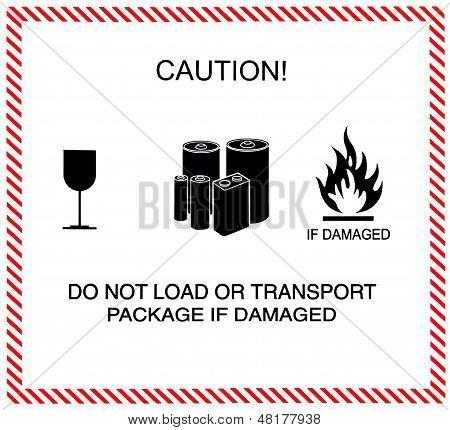 Caution Of Transportation