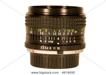 Camera Lens Close Up