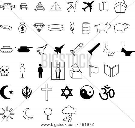 Symbols-- Demographics Etc