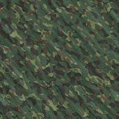 stock photo of camoflage  - Camouflage seamless texture - JPG