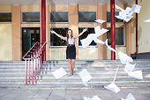 Woman Graduates School And Discards All Her Paperwork