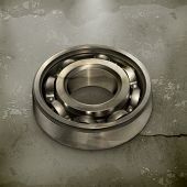 stock photo of bearings  - Ball bearing vector - JPG
