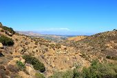 foto of san fernando valley  - Rocky Peak Trails running eastward to San Fernando Valley Santa Susana Mountains CA