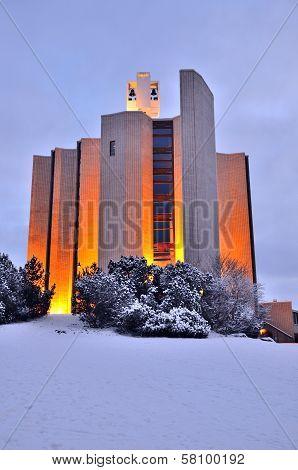 Tampere, Finland. Kaleva Church