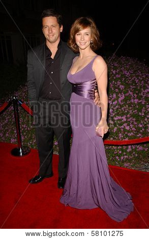 Ross McCall and Jennifer Love Hewitt  at the  Sojourn Shelter Services 30th Anniversary Gala. Loews Santa Monica Beach, Santa Monica, CA. 10-13-07