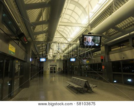 JFK Airport Airtrain Station in New York