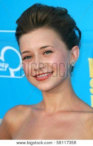 Olesya Rulin at the world premiere of Disney's