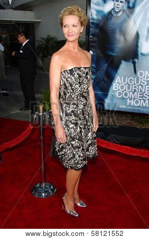 Joan Allen at the world premiere of