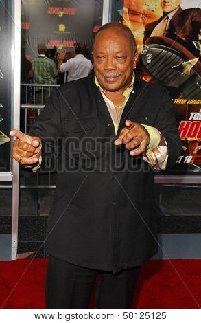 Quincy Jones at the Los Angeles Premiere of