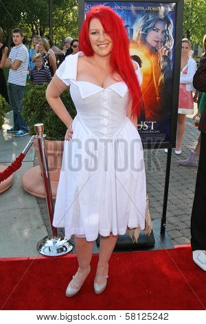 Jane Goldman at the Los Angeles Premiere of