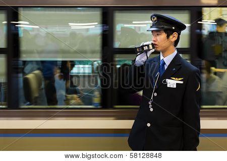 Train Conductor in Kobe