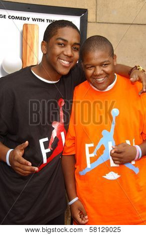 Christopher Massey and Kyle Massey at the Los Angeles premiere