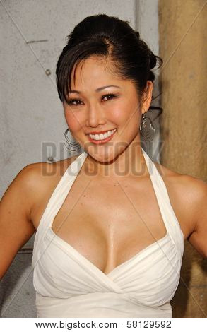Cathy Shim at the Los Angeles premiere