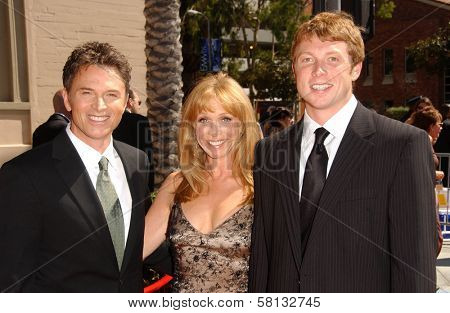 Tim Daly and family at the 2007 Primetime Creative Arts Emmy Awards. Shrine Auditorium, Los Angles, CA. 09-08-07