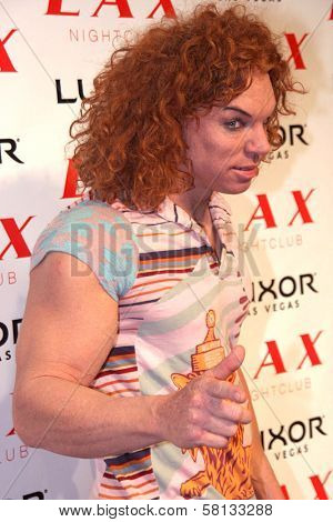 Carrot Top at the pre-VMA party hosted by Christina Aguilera. LAX Night Club, Las Vegas, NV. 09-08-07