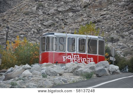 Palm Springs Aerial Tramway in California