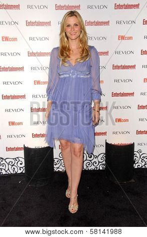 Bonnie Somerville  at Entertainment Weekly's 5th Annual Pre-Emmy Party. Opera and Crimson, Hollywood, CA. 09-15-07