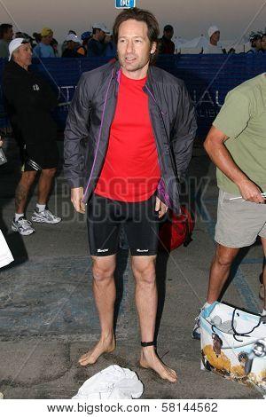 David Duchovny at The 21st Nautica Malibu Triathlon Presented By Toyota. Zuma Beach, Malibu, CA. 09-16-07