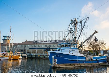 Fishermen's Terminal Port Of Seattle