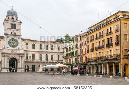 Clock Tower In Signori Square