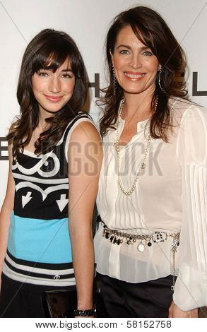 Cynthia Sikes and daughter at the Chanel and P.S. Arts Party. Chanel Beverly Hills Boutique, Beverly Hills, CA. 09-20-07