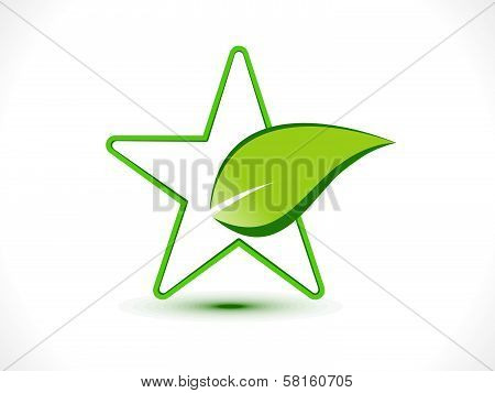Abstract Eco Star Icon