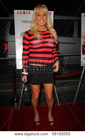 Mary Carey at the Los Angeles Party for