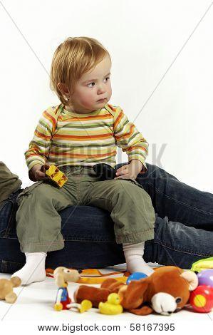 Sitting On Mummy