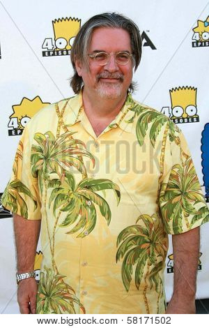 Matt Groening  at The Simpsons 400th Episode Block Party. 20th Century Fox Studios, Century City, CA. 05-08-07
