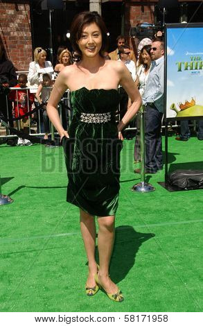 Norika Fujiwara at the Los Angeles Premiere of