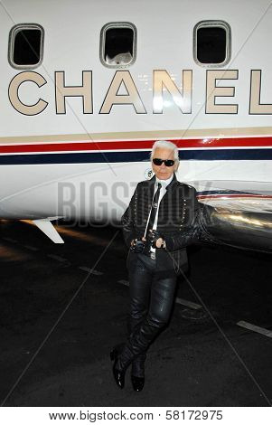 Karl Lagerfeld at the 2007/2008 Chanel Cruise Show Presented by Karl Lagerfeld. Hanger 8, Santa Monica, CA. 05-18-07