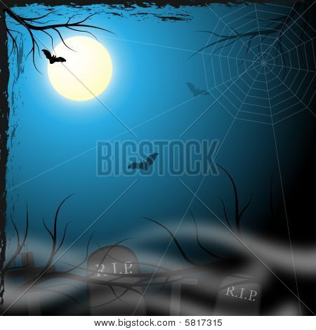 Spooky Background Design