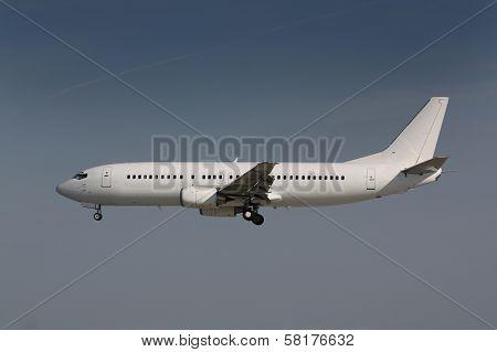 White plane
