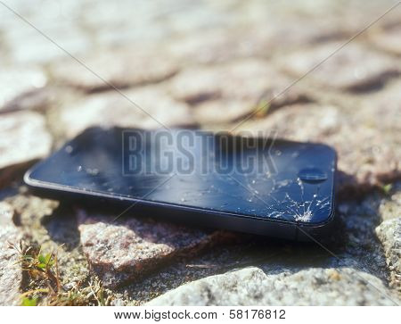 Broken Mobile Device.