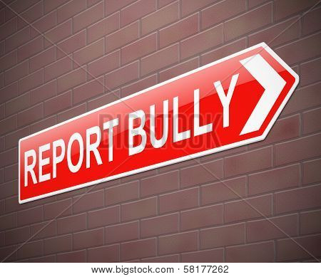 Bullying Sign.