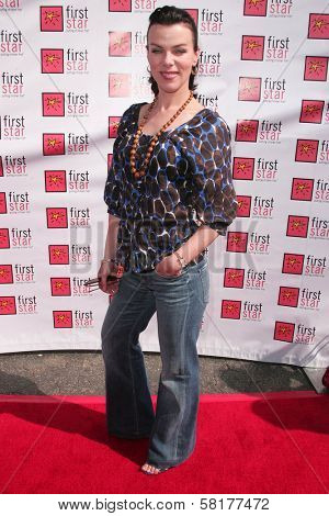 Debi Mazar at the 4th Annual First Star Celebration for Children's Rights, Barker Hanger, Santa Monica, CA 06-02-07