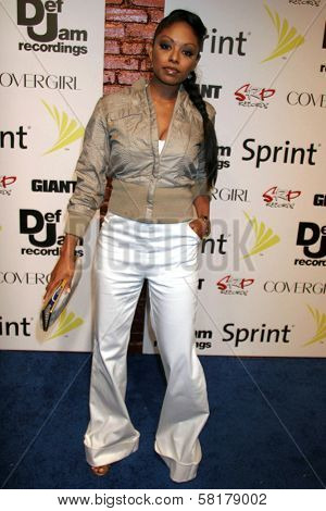 Tanee McCall at the party celebrating the release of Rihanna's New Album
