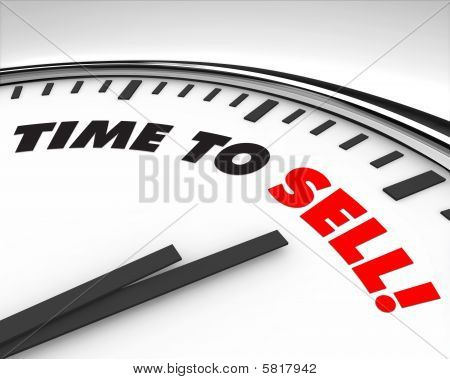 Time To Sell - Clock