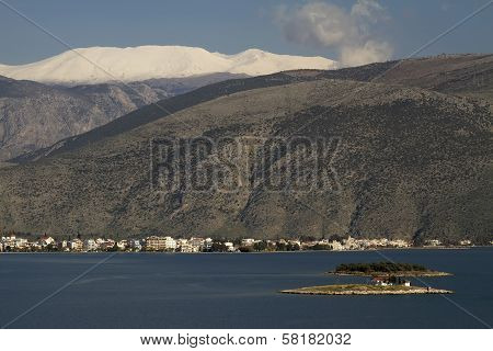 Itea And Parnassos Mountain, Greece