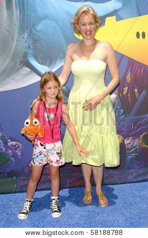 Penelope Ann Miller and daughter Eloisa at the Opening of Disneyland's