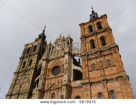 Saint Mary Cathedal Of Astorga. Spain