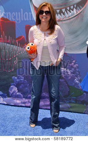 Valerie Bertinelli at the Opening of Disneyland's
