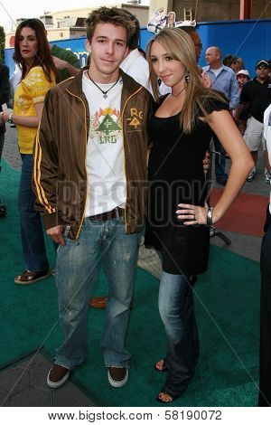Bobby Edner and Ashley Edner at the world premiere of