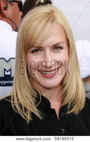 Angela Kinsey at the world premiere of