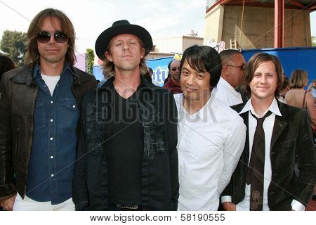 Switchfoot at the world premiere of