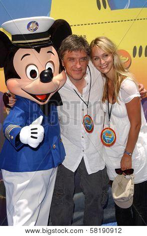 Craig Ferguson and Megan Cunningham at the Opening of Disneyland's