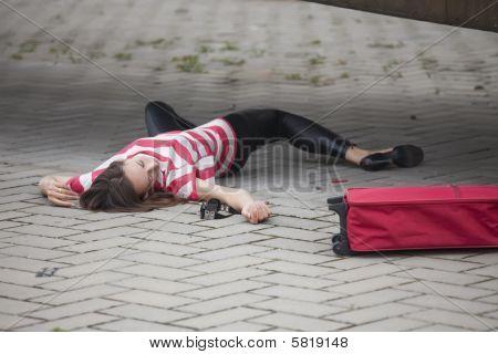 Crime Scene On The Street