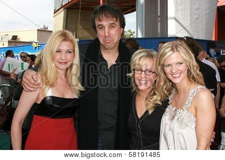 Susan Yeagley and Kevin Nealon with Rachael Harris and Arden Myrin at the world premiere of
